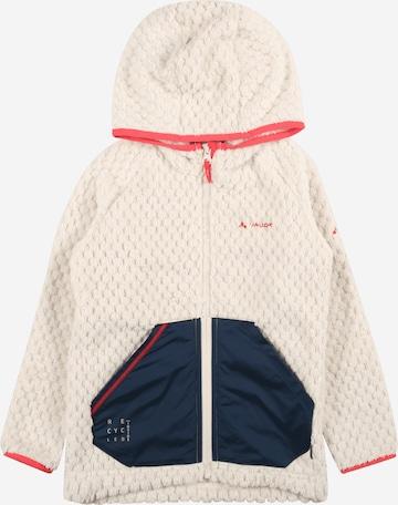 VAUDE Fleece jacket 'Manukau' in White