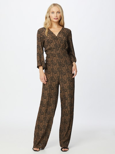 Freebird Jumpsuit in ocker / schwarz, Modelansicht
