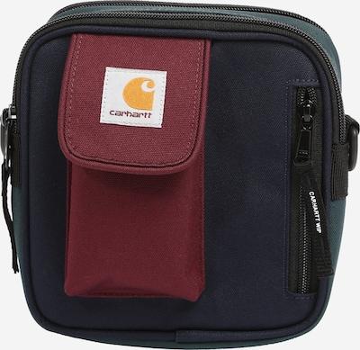 Geantă de umăr 'Essentials' Carhartt WIP pe bleumarin / verde închis / roșu burgundy, Vizualizare produs