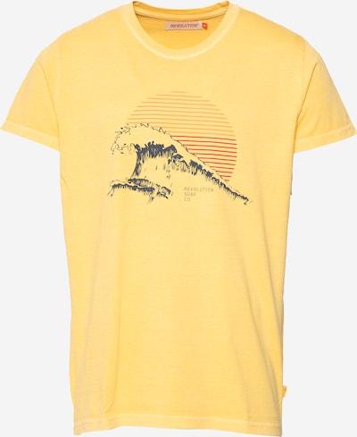 Tricou Revolution pe galben, Vizualizare produs