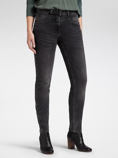 Sandwich Jeans in graumeliert, Modelansicht