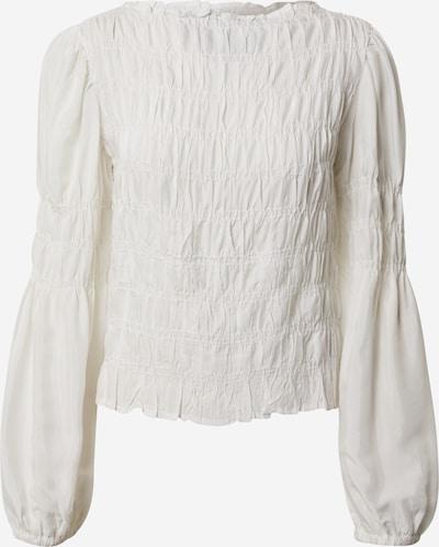 Cream Blouse 'Henva' in de kleur Wit, Productweergave