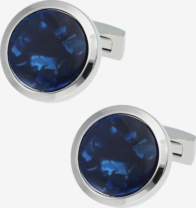 Davidoff Venice Manschettenknöpfe Messing 2 cm in blau, Produktansicht