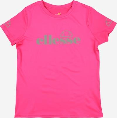 ELLESSE T-Shirt 'Fittina' en gris / rose / blanc, Vue avec produit