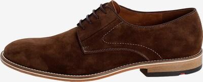 barna LLOYD Fűzős cipő 'GERONA', Termék nézet