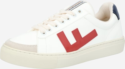 Flamingos' Life Sneakers low 'CLASSIC 70's kicks' in Navy / Rusty red / White, Item view