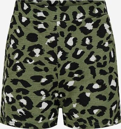 KIDS ONLY Shorts in khaki / schwarz / weiß, Produktansicht