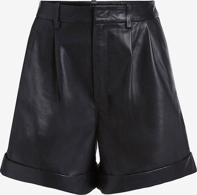 SET Pleat-Front Pants in Black, Item view