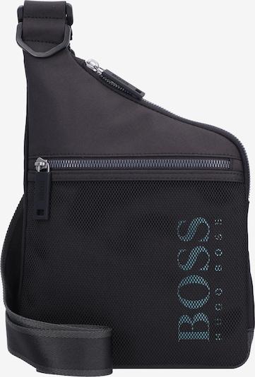 BOSS Casual Чанта за през рамо тип преметка в синьо / черно, Преглед на продукта