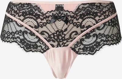 Hunkemöller String 'Amelia' in rosa / schwarz, Produktansicht