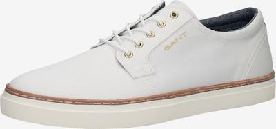 GANT Chaussure à lacets en blanc, Vue avec produit