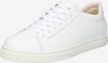 SELECTED HOMME Platform trainers 'Evan' in White