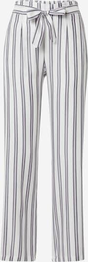 ETAM Pantalon de pyjama 'MICKY' en écru / gris foncé / violet pastel, Vue avec produit