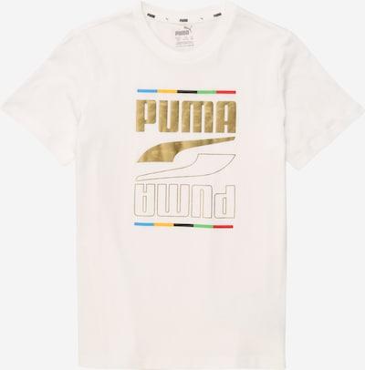 PUMA Functioneel shirt in de kleur Gemengde kleuren / Wit, Productweergave