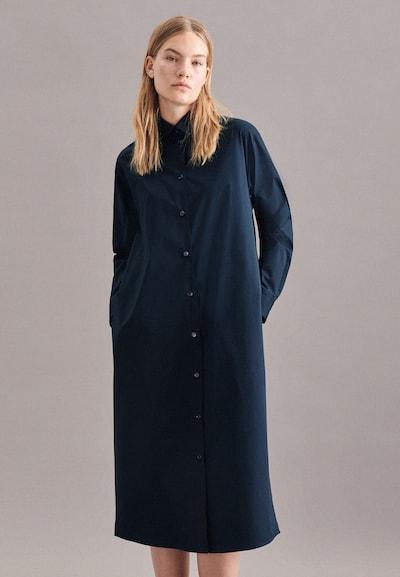 SEIDENSTICKER Oversized jurk ' Schwarze Rose ' in de kleur Donkerblauw, Modelweergave