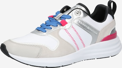 TOMMY HILFIGER Platform trainers in Grey / Pink / Silver / White, Item view