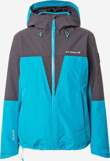 JACK WOLFSKIN Outdoor Jacket 'Rhapsody' in Blue / Black, Item view