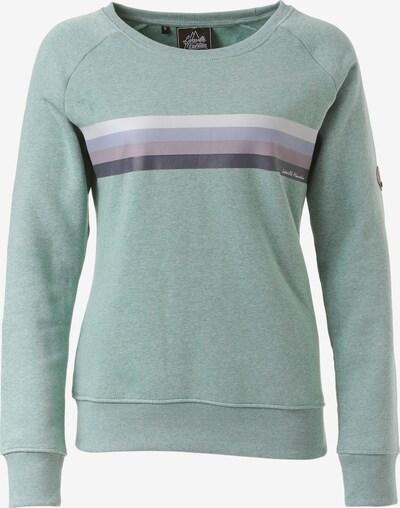 Lakeville Mountain Sweatshirt 'Mira' in mint, Produktansicht