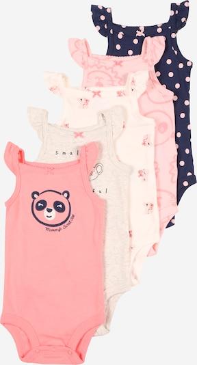 Carter's Rompertje/body in de kleur Crème / Navy / Grijs gemêleerd / Pink, Productweergave