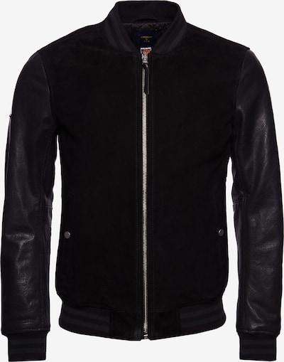 Superdry Tussenjas 'Varsity' in de kleur Zwart, Productweergave