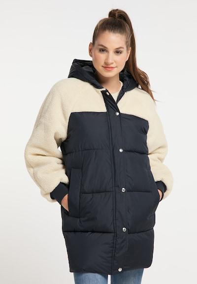 MYMO Manteau d'hiver en marine / blanc, Vue avec modèle