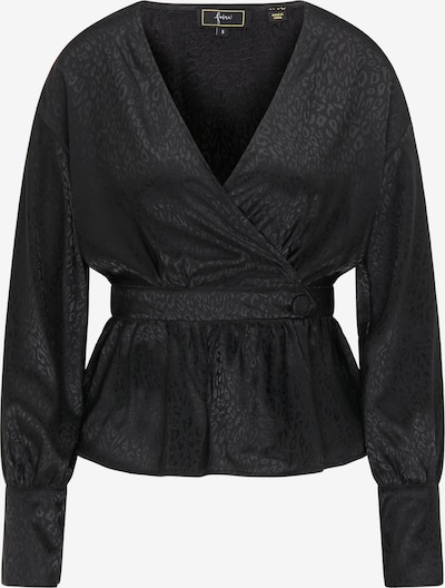 faina Blouse in de kleur Zwart, Productweergave