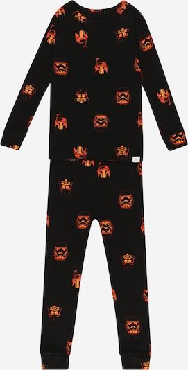 GAP Schlafanzug 'Vader' in orange / schwarz, Produktansicht