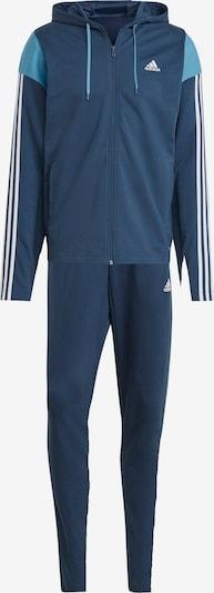 Treniruočių kostiumas 'Rib' iš ADIDAS PERFORMANCE , spalva - mėlyna / balta, Prekių apžvalga