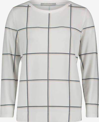 Betty & Co Langarmshirt in mischfarben / naturweiß, Produktansicht