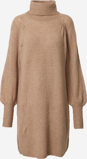 Freequent Robes en maille en beige chiné, Vue avec produit
