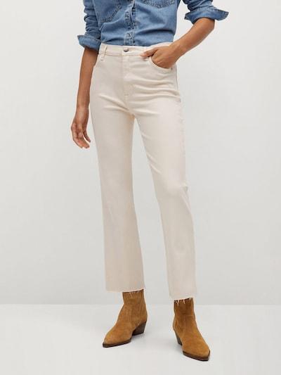 MANGO Jeans 'Sienna' in nude, Modelansicht