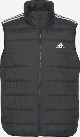 ADIDAS PERFORMANCE Sportbodywarmer 'Essentials Daunenweste' in de kleur Zwart / Wit, Productweergave