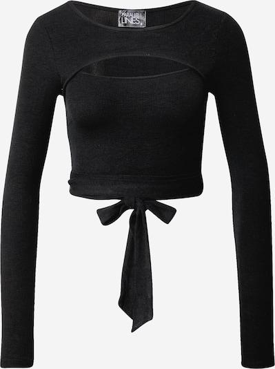 Parallel Lines Shirt in de kleur Zwart, Productweergave