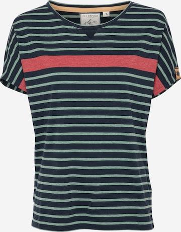 Fli Papigu Shirt 'One Hedy Lemar' in Blauw