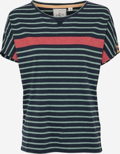 Fli Papigu T-shirt 'One Hedy Lemar' en bleu foncé, Vue avec produit
