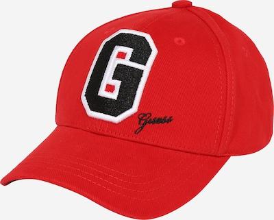 GUESS Čiapka - červená / čierna / biela, Produkt