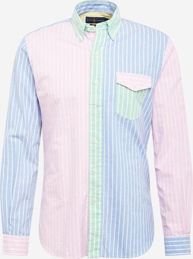 Camicia POLO RALPH LAUREN di colore blu chiaro / giallo chiaro / verde chiaro / rosa chiaro / bianco, Visualizzazione prodotti