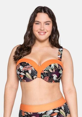 SHEEGO Bikinitop in Mischfarben