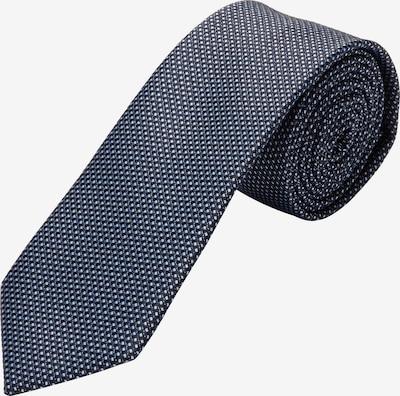 s.Oliver BLACK LABEL Krawatte in dunkelblau, Produktansicht