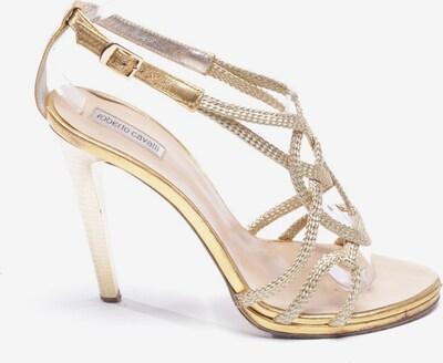 roberto cavalli Sandaletten in 40 in gold, Produktansicht