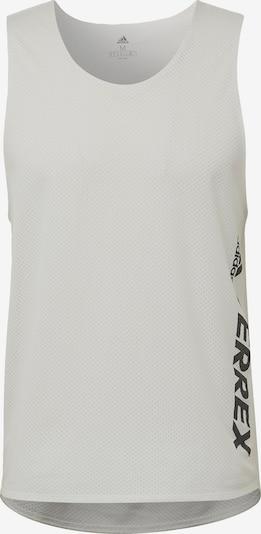 adidas Terrex Functioneel shirt 'Terrex Agravic' in de kleur Zwart / Wit, Productweergave