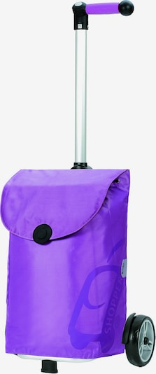 Andersen Shopper Trolley in de kleur Lila, Productweergave