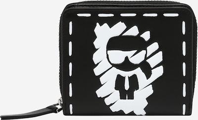 Karl Lagerfeld Portemonnee in de kleur Zwart / Wit, Productweergave