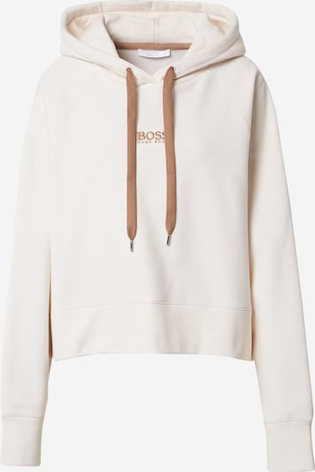 BOSS Bluzka sportowa 'Elisa' w kolorze brązowy / białym, Podgląd produktu