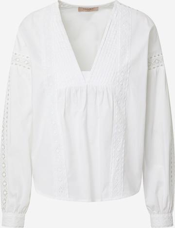 Twinset Bluse in Weiß