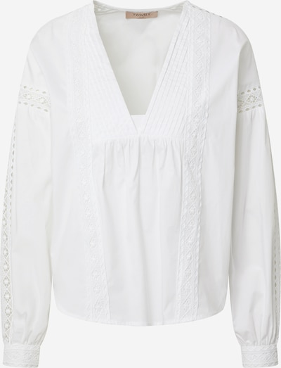 Twinset Bluse in offwhite, Produktansicht