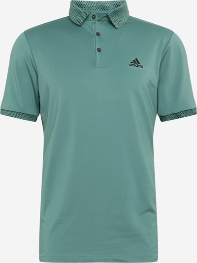 adidas Golf Functioneel shirt in de kleur Donkergroen / Zwart, Productweergave