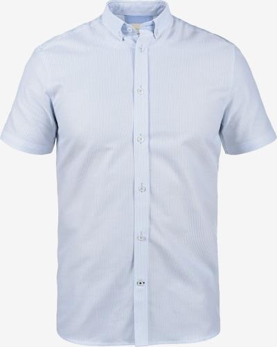 TAILORED ORIGINALS Kurzarmhemd in blau / pastellblau / hellblau, Produktansicht