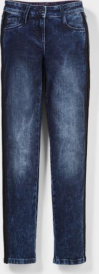 s.Oliver Leg-Jeans in blue denim, Produktansicht
