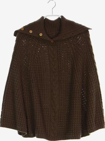 Miss Selfridge Sweater & Cardigan in M-L in Brown